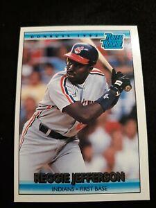 1992-Donruss-12-Reggie-Jefferson-RC-Indians-rookie-Card
