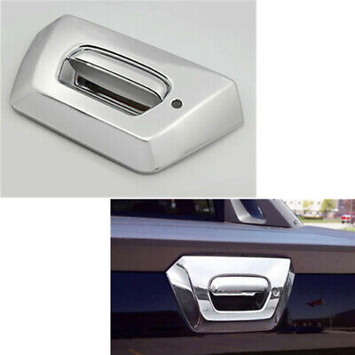 Keyhole 02-06 Chevy AVALANCHE 1500+2500 Chrome Tailgate Handle Cover