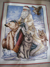 Christmas Counted Cross Stitch Dimensions GOLD Picture KIT,THE NORTH WIND,8526