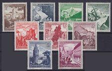 DR Mi Nr. 675 - 683 **, Ostmarklandschaften 1938, postfrisch, MNH