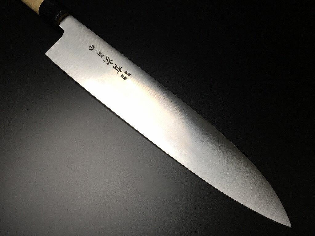 ARITSUGU AUS-10 Acier Gyuto Cuisine Chef japonais couteau 270 mm 10.62  AT075as