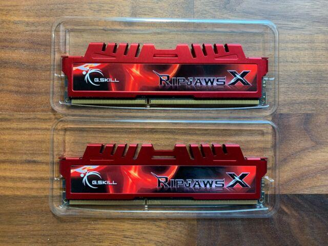 2 x 8GB PC3 14900 240-Pin DDR3 SDRAM DDR3 1866 Desktop Memory Model F3-14900CL10D-16GBXL G.SKILL RipjawsX Series 16GB
