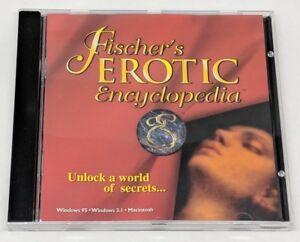 Fischer-039-s-Erotic-Encyclopedia-CD-ROM-CD-1996-Windows-95-Dreamcatcher-Interactive