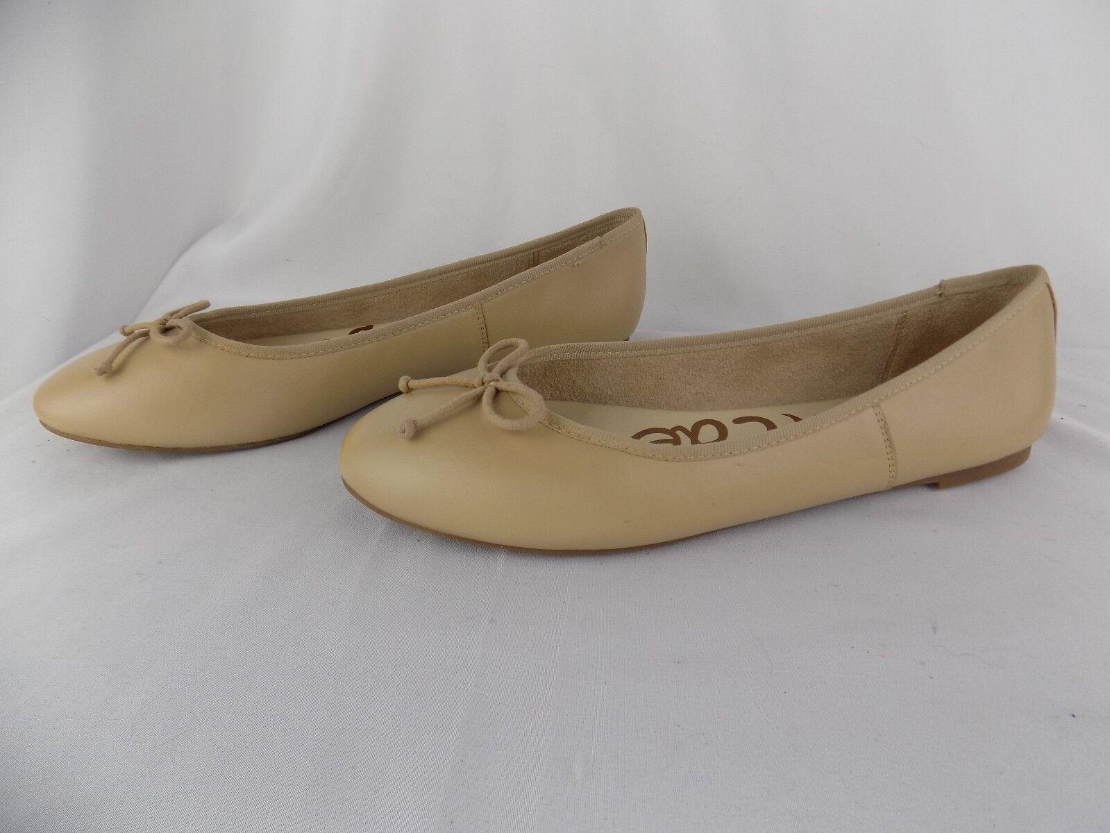 Sam Edelman Women's Carrie Ballet Flat Slip On shoes Nude Sz 10