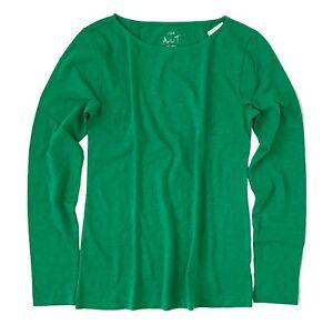 Con Lunga Green Manica J Nuova Kelly Mercantile 2x crew Etichetta Plus OOqwXvT