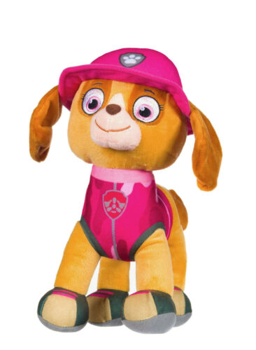 """OFFICIAL PAW PATROL JUNGLE RESCUE SKYE LARGE 12/"""" SOFT TOY PLUSH TEDDY"""
