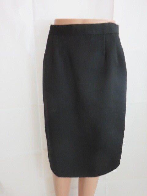 Bill Blass Wool Below Knee Skirt Size 6