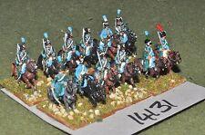 15mm napoleonic french hussars 12 cavalry (14131)