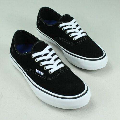 In 6 Brand Uk Authentic Trainers Black Vans Pro 5 white New 10 Tamaños 11 9 8 7 4 xqXdtnx78w