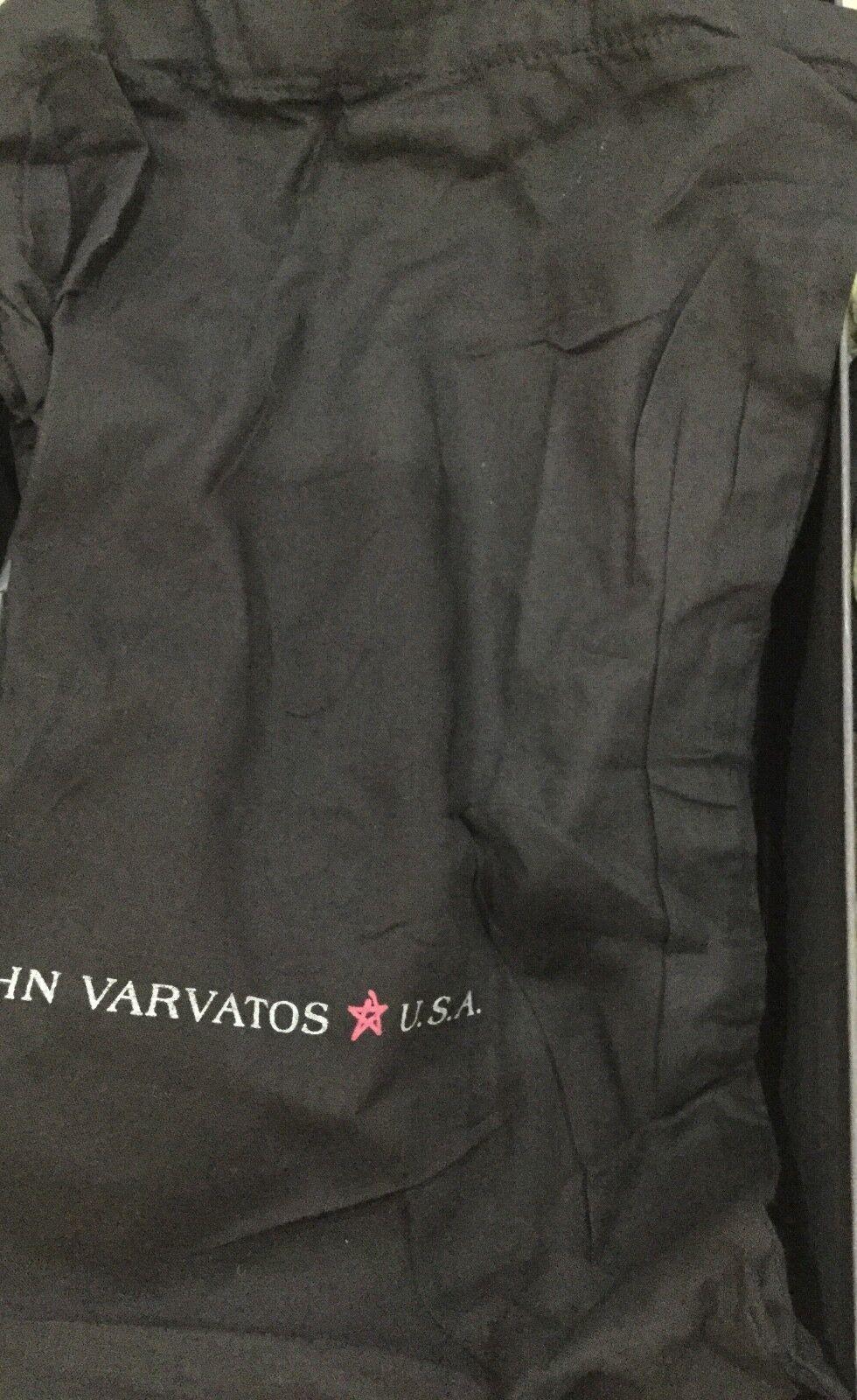 John Varvatos USA schwarz suede Hattan Hattan Hattan fashion Turnschuhe NIB 9.50  RARE 9abf43