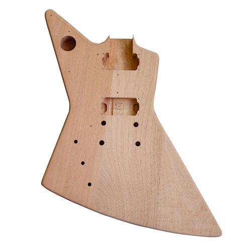 E-Gitarre Selbermachen Linkshändig Set Explw Weiß Zubehör