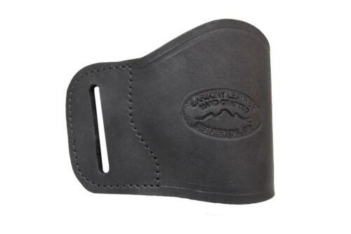 NEW Barsony Black Leather OWB Yaqui Holster NA Llama Mini-Pocket 22 25 380