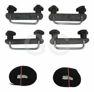 Thule Karrite Roof Box U Bolt Clamps 80mm Wide Fitting Kit