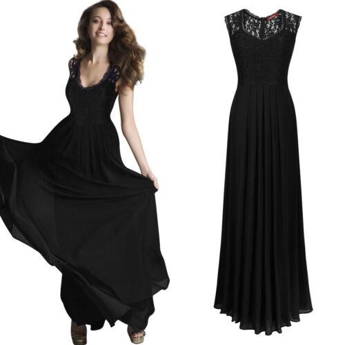Robe de soirée robe de bal robe de fete robe mousseline noir Navy Bleu Bordeaux bc325