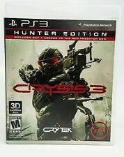 Crysis 3 - Hunter Edition (Sony PlayStation 3, 2013) - #90642-1/12