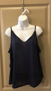 CAMISOLE-Navy-Blue-Size-XL-NWOT