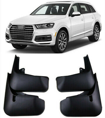 FRONT REAR MUD FLAP FOR AUDI Q7 2007-2015 SPLASH GUARDS MUDGUARDS OE Fitment