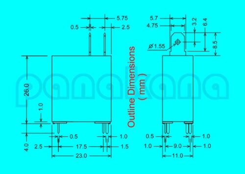 New other Galanz JD2-1A 12VDC SPST Relay