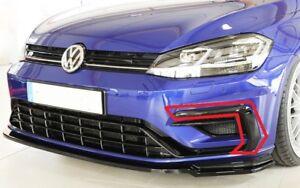 Nuevo-GENUINO-VW-GOLF-R-Mk-7-N-S-Parachoques-Delantero-Izquierda-Parrilla-Recortar-5G0853101F041-OEM