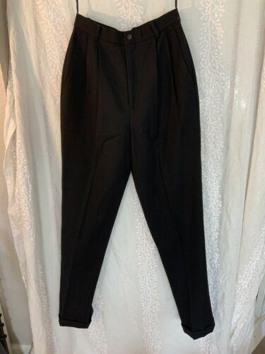Vintage Ralph Lauren pants black 80s 90s - image 1