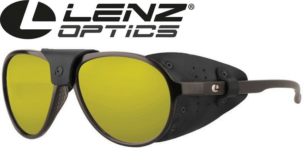 Lenz Optics Spotter Discover Sunglasses Havanna Matt - Sonnenbrille, Polbrille