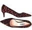 PRADA-Leopard-Calf-Hair-Pointed-Toe-Pump-Kitten-Heel-Pump-Shoe-sz-40 thumbnail 1