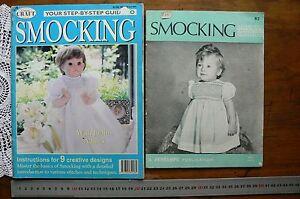 SMOCKING-Assorted-Designs-amp-Patterns-MultiList-2-Books-CrSmock