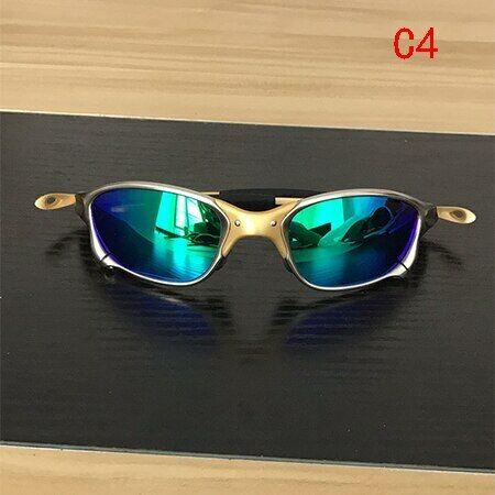 2020 X-Metal Cyclops Outdoor Sunglasses Ruby Polarized Lenses TITANIUM Goggles