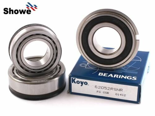 Triumph 1200 Trophy 1999-2003 Tapered Steering Head Stock Stem Bearing Kit /& S