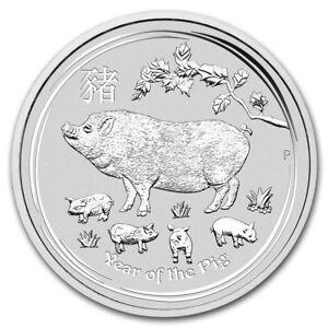 Australie 10 Dollars Argent 10 Onces Année Du Cochon 2019 P5wx6uio-08004817-625920114