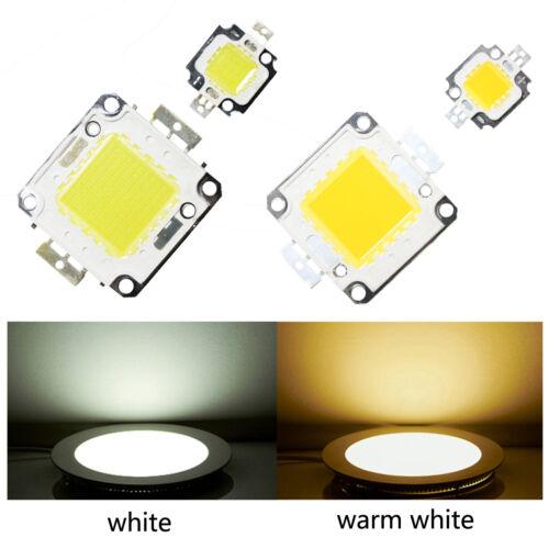 10PCS 10W//100W Cool//Warm White High Power SMD Led Chip Flood Light Bead