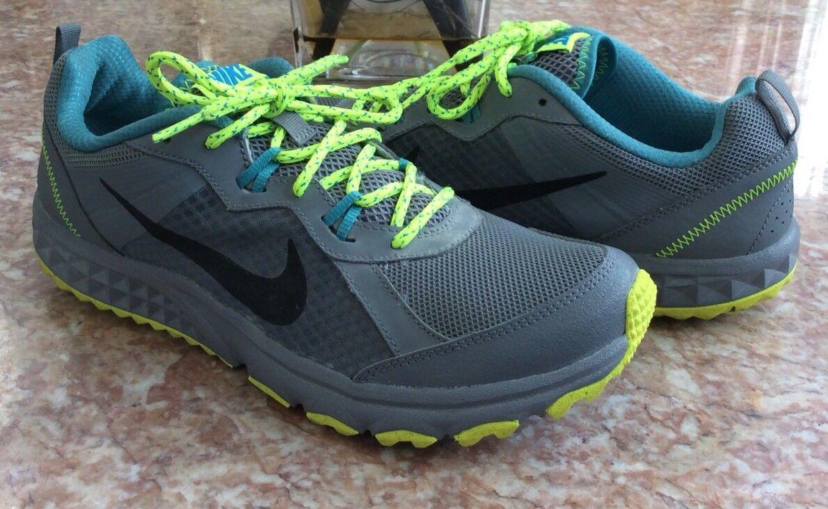 low cost 990b2 96df3 Nike gris turquesa rosa salvaje salvaje salvaje Trail Hombres Zapatillas de  trail running cómoda y hermosa