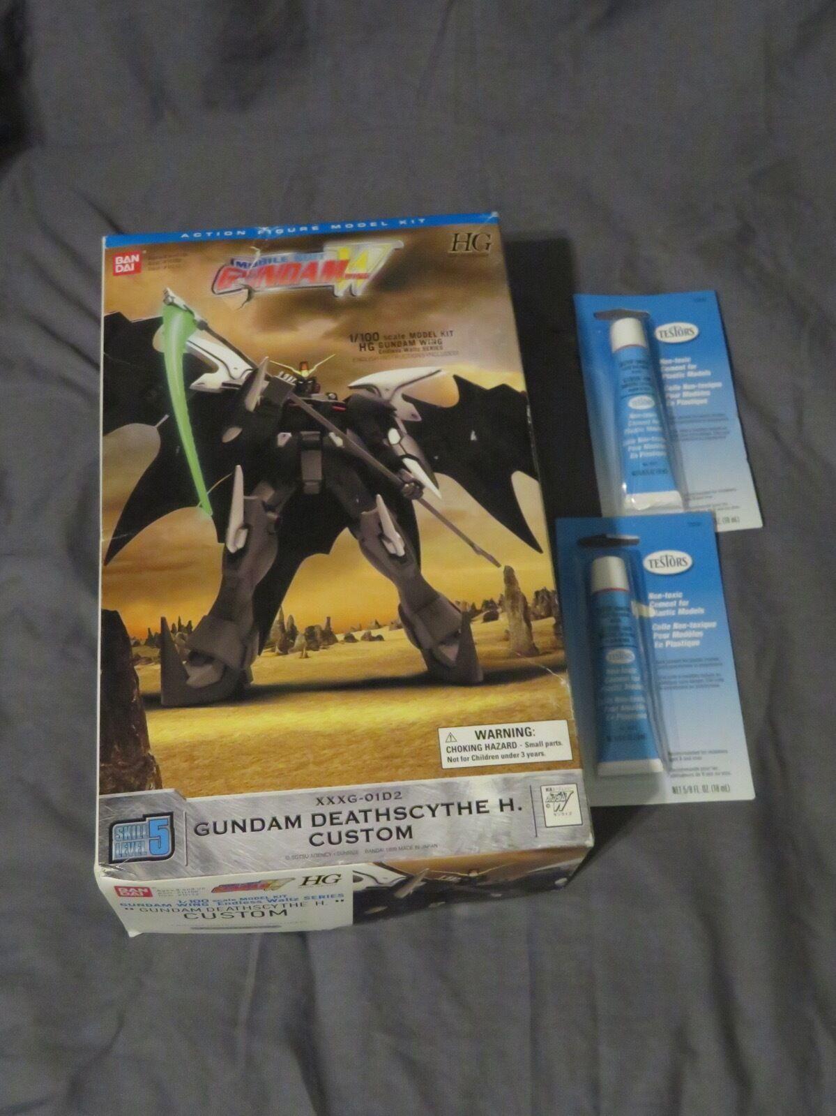 Gundam vinge EW 1  100 HG EW Eget XXXG -01D2 dödscythe H modellllerlerl Kit bilen Suit