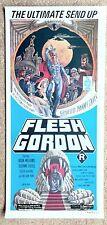 Flesh Gordon. Original Insert Poster. Australian version