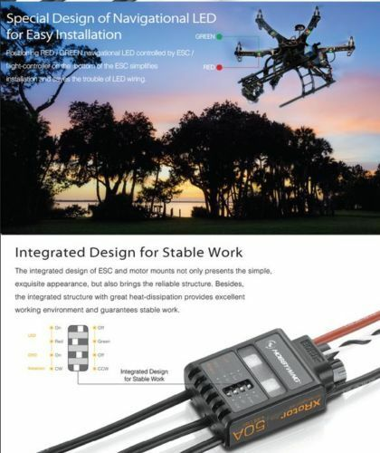 HOBBYWING X-Rotor Series 50A 4-6S ESC Electronic Speed Control for Multirotor