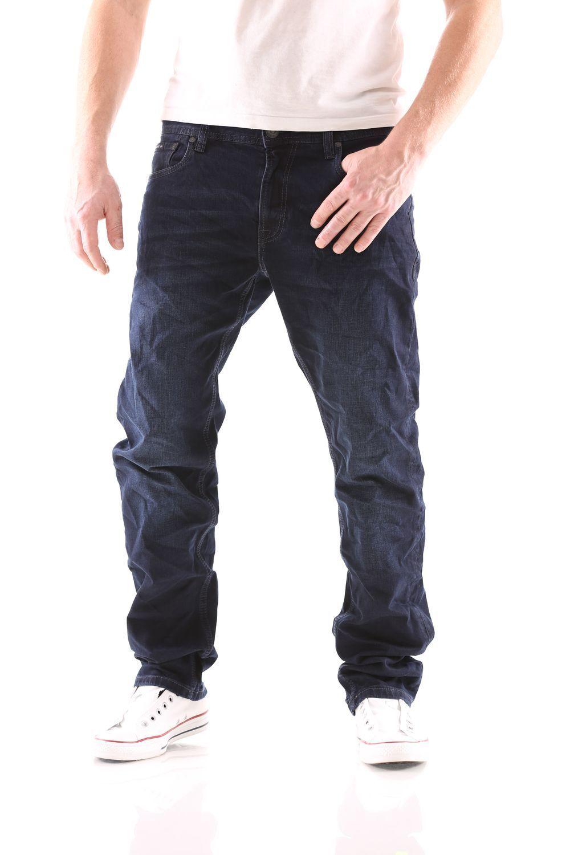 Big Seven Stanley Deep bluee Regular Men's Jeans New