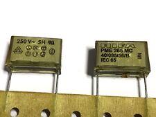 47nf, 0,047uf, 250vac, 20%, rm22, 5, Diapositive Condensateur, pme265mc547mr19to 5 pièces