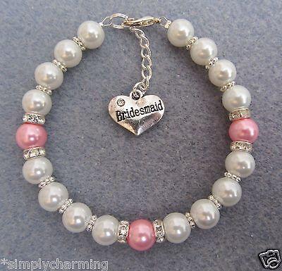 Wedding Favour Family Charm Bracelet Jewellery Gift Birthday Present Christmas