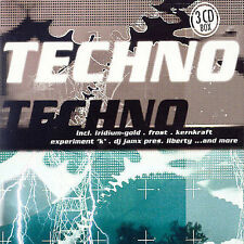 Techno [ZYX] by Various Artists (CD, Sep-2001, Box)