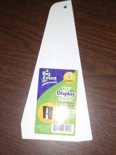 SELF ADHESIVE DISPLAY EASEL 6 COUNT BIG EVENT GRADUATION SCHOOL PROJECTS
