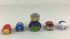 Lots to choose from: TSUM TSUM DISNEY MARVEL FIGURES