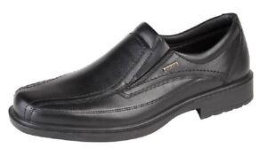 Black Comfort Twin M958a Sock Gusset Shoes Imac Mens Leather PwXqa