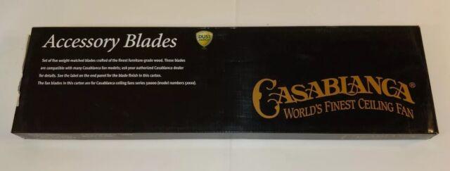 "Casablanca Wine Country / Vintage Rosewood Reversible 22"" Fan Blade # 99003 New"