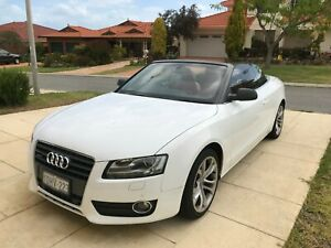 2010-Audi-A5-2-0-TFSI-Quattro-8T-Automatic-SoftConvertible-Red-Leather-Interior