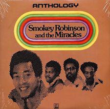 """SMOKEY & THE MIRACLES~""""ANTHOLOGY""""1973 """"EX"""" MOTOWM LABEL 3~LP SET!!!"""