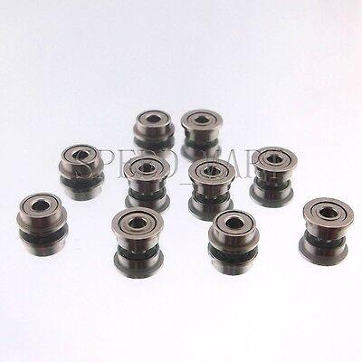 5 x MF63zz Mini Metal Double Shielded  Flanged  Ball Bearings 3mm*6mm*2.5mm