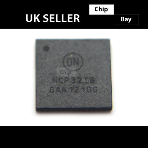2X ON Semiconductor NCP3218 Mobile CPU Synchronous Buck Controller IC Chip