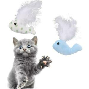 Soft-Feather-False-Whale-Cute-Cat-Toys-Playing-Pet-Dog-Toy-Cats-V8B0