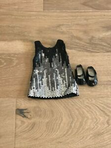 American Girl Doll Tenney/'s Sparkling Performance Outfit Dress NEW! Tenney