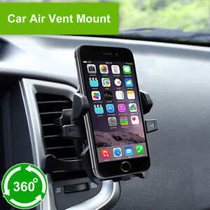 Car Air Vent Mount Cradle Holder Stand for iPhone Samsung Mobile Phone Cellphone 680491138552